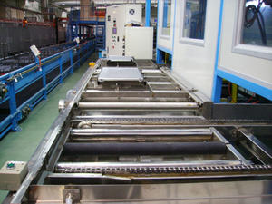 Stainless Steel Slat Chain Conveyor