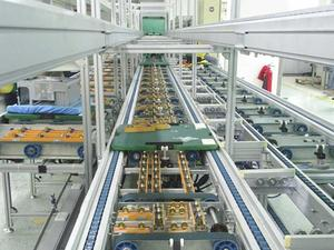 High Speed Chain Conveyor Belt