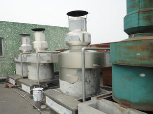 Organic waste gas treatment device gas disposal air washing tower manufacturer