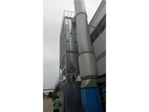 Exhaust Dust Gas Purifying scrubber for VOCs cleaning supplier