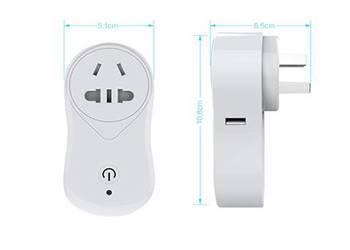 深セン工場の価格は、プラグインスマートな無線LANプラグwifi制御電源スイッチ
