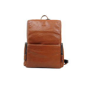 China customized mens leather backpacks manufacturer
