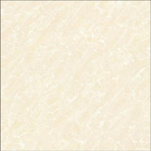 Ivory white polished tile W6S153