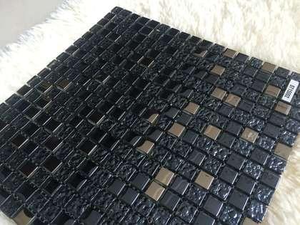 300x300 glass mini mosaic tile for facade