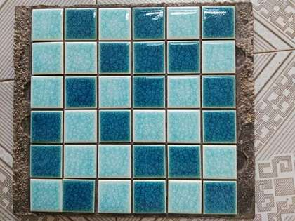 Mix color foshan mosaic tile bathroom floor