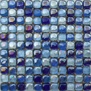 New blue Piscina Glass Artico Antislip mosaic designs