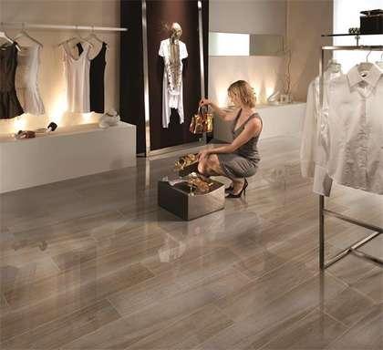 Latest interior wood grain porcelain tile