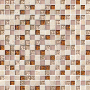 New design flower pattern mosaic tile