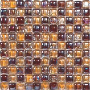 Glass mosaic tile building material for house decoration DAH087