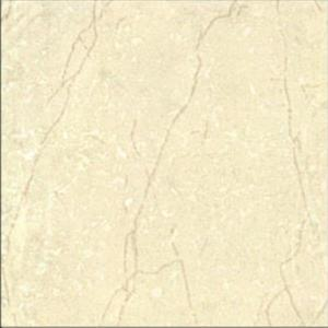 Light yellow polished porcelain tiles 500x500 5A135