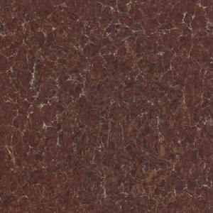 Nano polished vitrified red porcelain floor tile