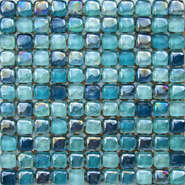 Cheap glass mix color mosaic wall tiles DAH078