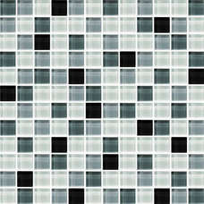 Mix color 12x12 glass tile for floor