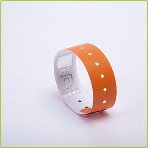 China manufacturer disposable RFID Paper Wristband
