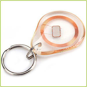 China manufacturer transponder rfid epoxy key fobs