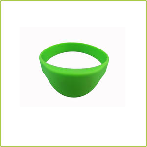 High Quality waterproof nfc rfid silicone Bracelet