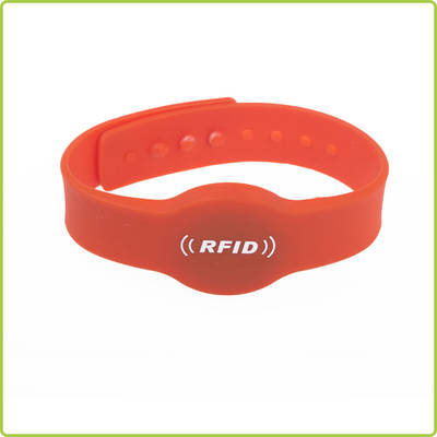 High Quality waterproof RFID Silicone Wristband- PR015