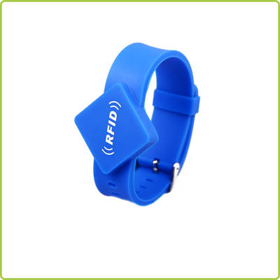 High Quality waterproof RFID Silicone Wristband- PR017