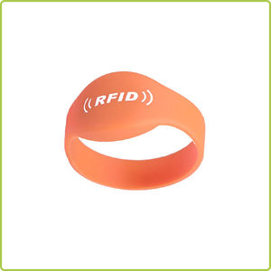 Waterproof NTag213 nfc RFID Silicone Wristband- PR001A