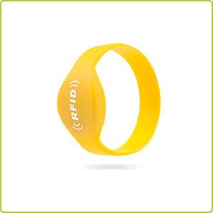 best price I-code SLI rfid silicone wristband rfid tag