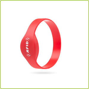 RFID NFC silicone wristband for both adults and teens