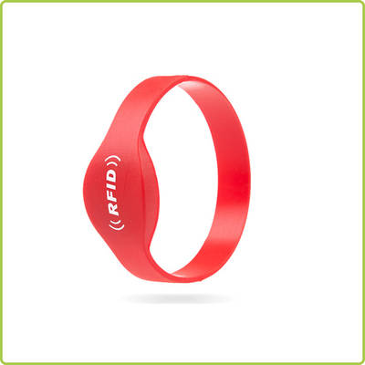 NTAG216 NFC silicone wristband for both adults and teens-PR005