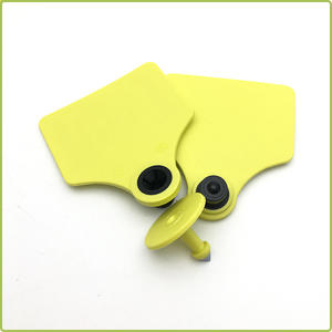 TPU UHF RFID Animal Ear Tag For Cattle/Pigs/Cows Management