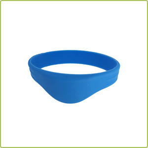 Factory Products Sample Available EM4200 Silicone RFID Wristband Price