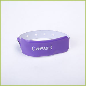 Disposable pvc RFID wristband (RI-PVC 01)