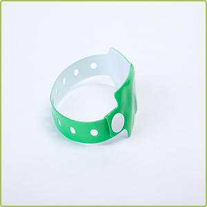 ISO18000-6C Alien H3 Event PVC/Paper RFID Disposable Wristband