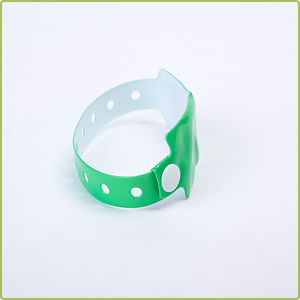 Disposable UHF RFID PVC Wristband (RI-PVC 02)