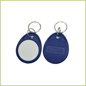 RFID hotel room key tag/13.56mhz contactless RFID keyfob/ABS 125khz access control rfid keyfobs