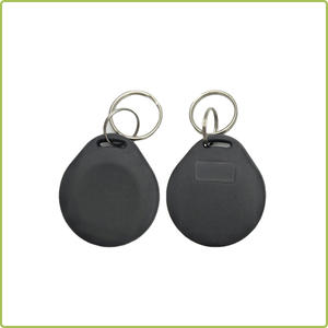 sticky 125khz abs rfid keyfob iso 15693 tag uhf rfid tag with staff management