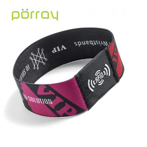 High Quality 13.56mhz NFC Stretch Wristband For Access Control
