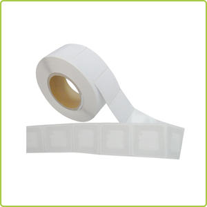 13.56MHz HF rfid sticker tag 50x50mm