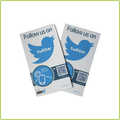 Rewritable NFC Smart Posters for enhanced customer engagement
