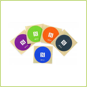ntag216 nfc sticker for promotional aids and souvenirs