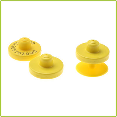860-960mhz UHF RFID Ear Tag for Farm Livestock Management