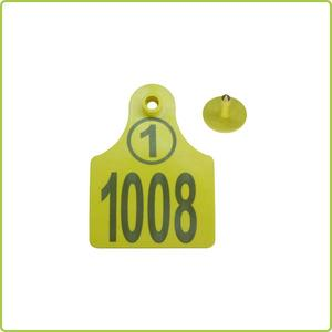 china factory cheap epc gen2 rfid cattle ear tags