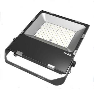 New model outdoor solar sensor 100w led flood light