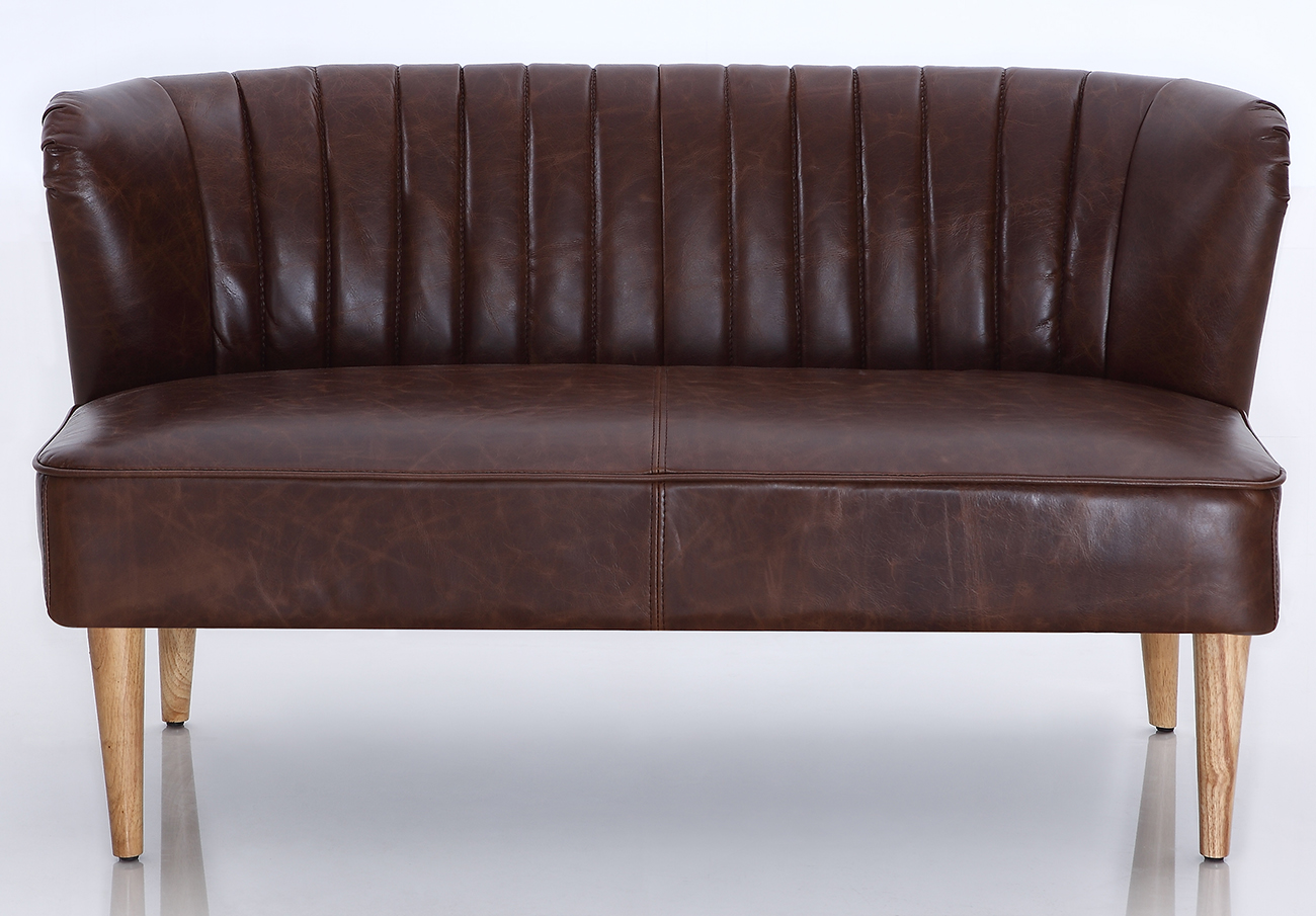 Leather Sectional Couch Sofas 0865
