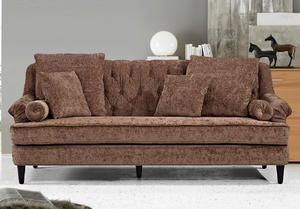 ODM leather sectional sofa manufacturer make in China.