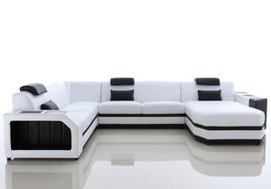 High quality oem leather chesterfield sofa manufacturer for dining room.