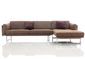 Customed leather reclining sofa manufacturer which make in China.