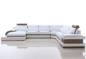 ODM modern leather sofa  supplier which make in China.