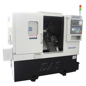 DS-6LES 3 Axis CNC Lathe Make In China With Strong Vibration Resistance