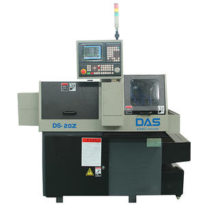 China Double Spindle Swiss Type CNC Lathe DS-20Z Manufacturer