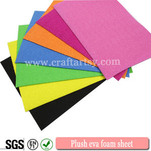 Factory direct sale Plush eva foam sheets