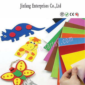 Wholesale craft foam projrct/ eva adhesive sticker/Kindergarten decoration craft ideas for kids