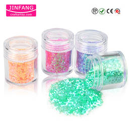colorful Rainbow Glitter Powder